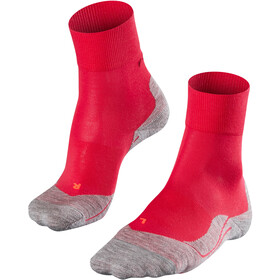 Falke RU4 - Calcetines Running Mujer - rojo